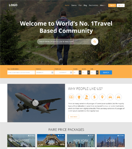 Travel Community by ScriptEvolve
