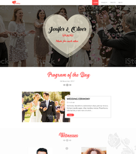 Wedding Program by ScriptEvolve